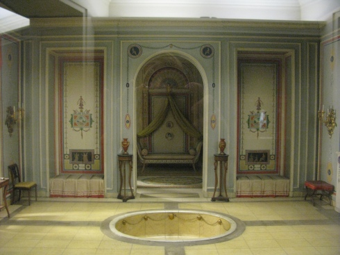 French Bathroom and Boudoir of the Revolutionary Period, 1793-1804